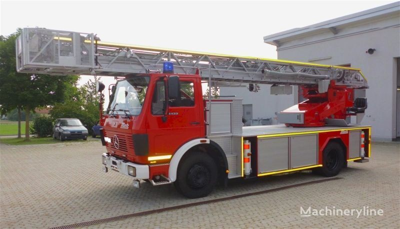 MERCEDES-BENZ F20126-Metz DLK 23-12 - Fire truck - Turntable ladder  autoscara