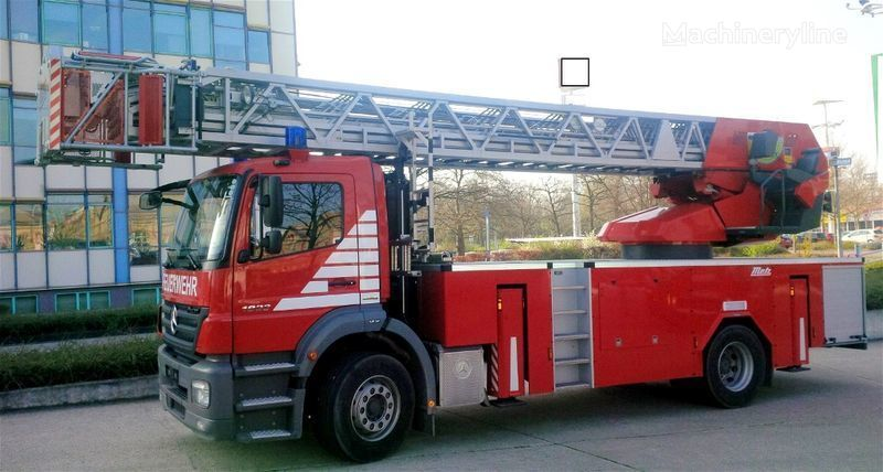 autoscara MERCEDES-BENZ F20127 - Metz L39 - Fire truck - turntable ladder