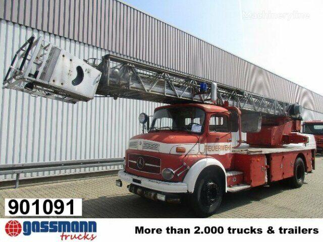 autoscara MERCEDES-BENZ L 1519 4x2 DL 30 L 1519 4x2 Feuerwehr Drehleiter DL30