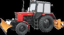 MTZ 82 MK (otval+shchetka) freza de zapada