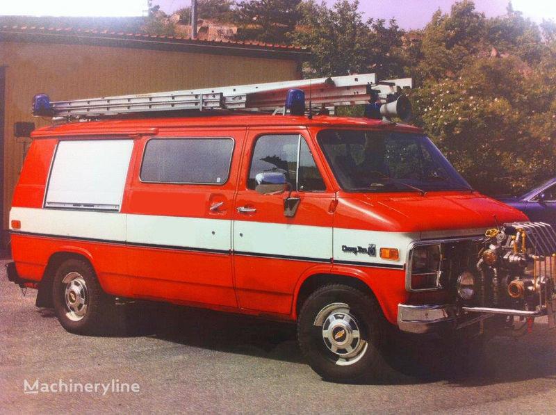 Chevrolet Van G-30 mașină de pompieri