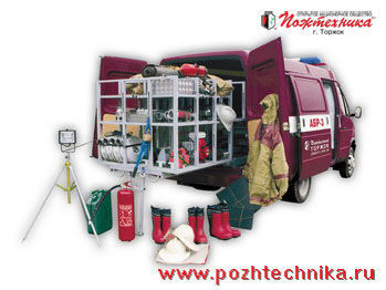 GAZ ABR-3 Avtomobil bystrogo reagirovaniya  mașină de pompieri