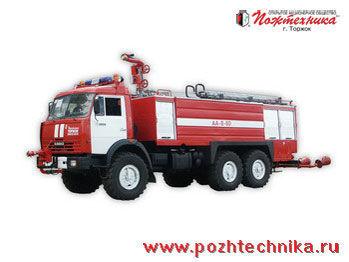KAMAZ AA-8/60    mașină de pompieri