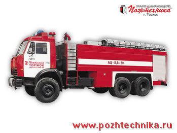 KAMAZ AC-8,8-50  mașină de pompieri