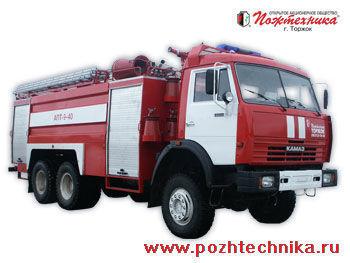 KAMAZ APT-9-40 Avtomobil pennogo tusheniya pozharnyy     mașină de pompieri