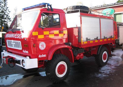 MAN 8.150, 4x4 WD mașină de pompieri