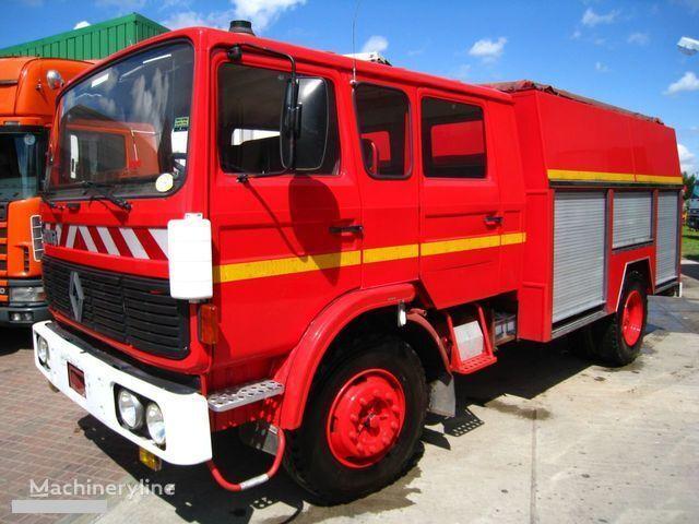 RENAULT G-191 11 PLACE WATER PUMP mașină de pompieri