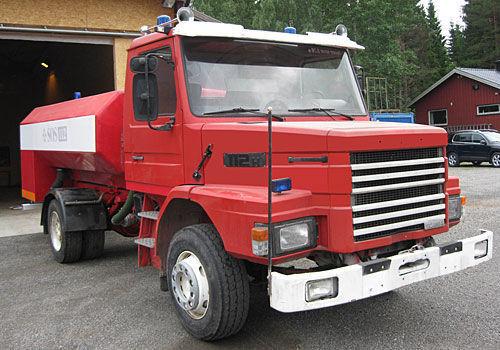 SCANIA T-112H mașină de pompieri