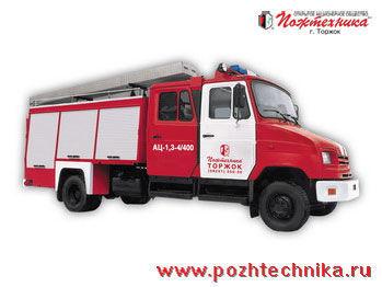 ZIL  AC-1,3-4/400 mașină de pompieri