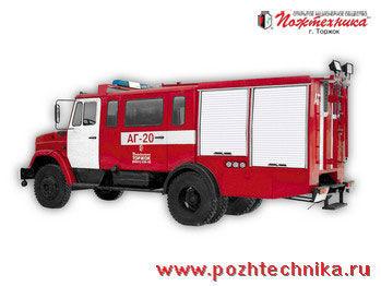 ZIL  AG-20 Avtomobil gazodymozashchitnoy sluzhby mașină de pompieri