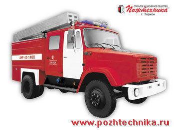 ZIL ANR-40-1400 Avtomobil nasosno-rukavnyy   mașină de pompieri