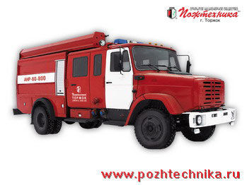 ZIL ANR-60-800 Avtomobil nasosno-rukavnyy  mașină de pompieri