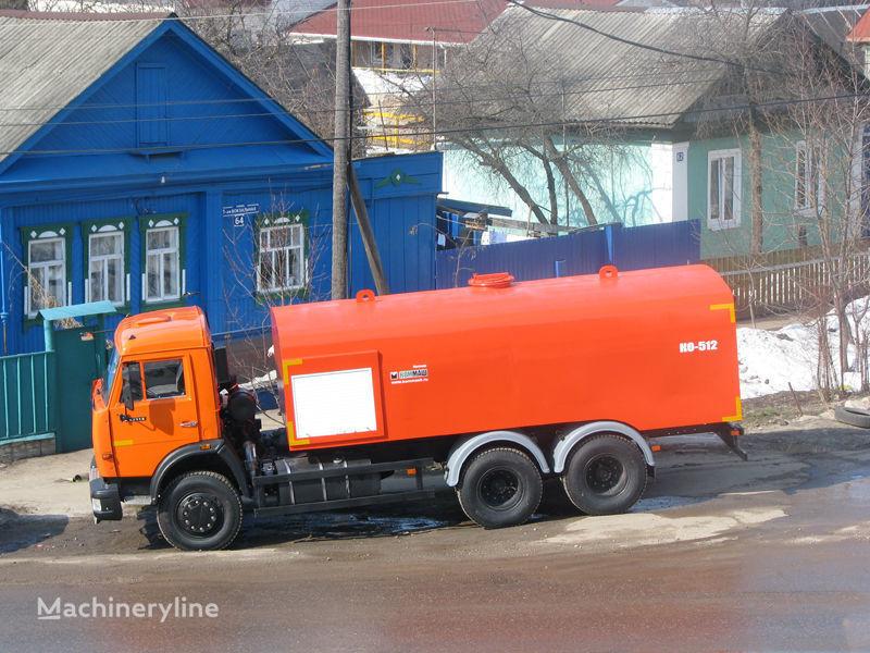 KAMAZ Kanalopromyvochnaya mashina KO-512 maşină de desfundat canale