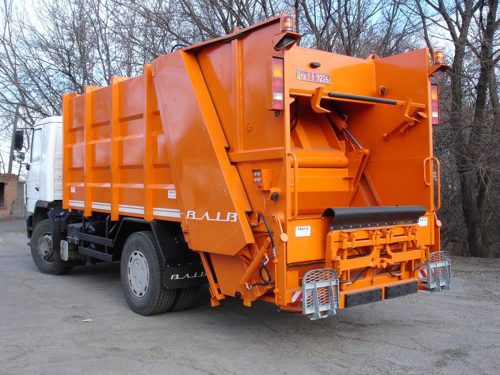 MAZ 5340S2 maşina de gunoi