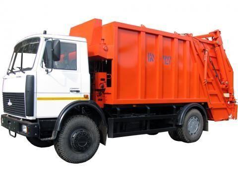 MAZ KO-427-34  maşina de gunoi