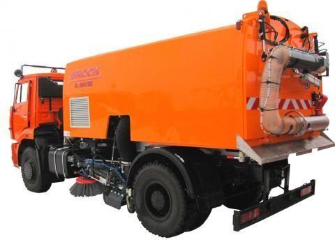 KAMAZ KO-326-11  maşina de măturat stradă