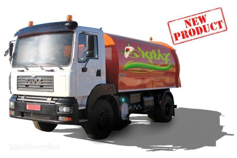 KRAZ 5401K2-020 Vakuumnyy podmetalno-uborochnyy avtomobil  maşina de măturat stradă