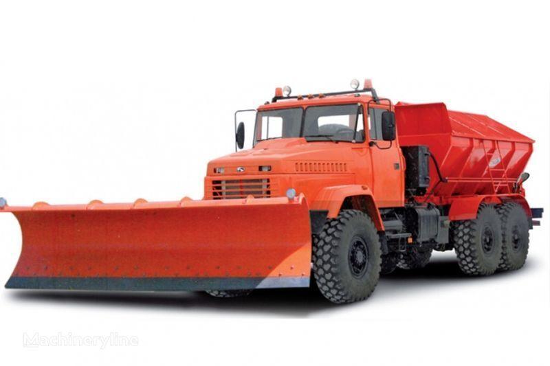 KRAZ 6322 MDKZ-30 Kombinirovannaya dorozhnaya mashina  maşina de măturat stradă