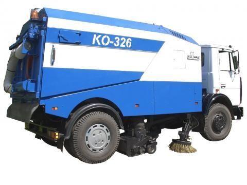 MAZ KO-326 maşina de măturat stradă