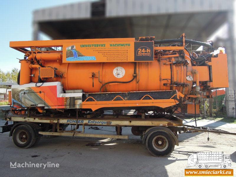 D/MRW/0173-18 maşină pentru vidanjări