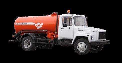 GAZ Vakuumnaya mashina KO-522B maşină pentru vidanjări