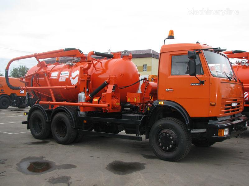 KAMAZ Ilososnaya mashina KO-507A-3 maşină pentru vidanjări