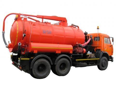 KAMAZ KO-530-01  maşină pentru vidanjări
