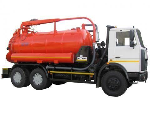 MAZ KO-530-05  maşină pentru vidanjări