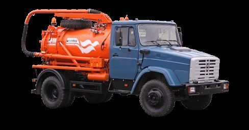 ZIL Ilososnaya mashina KO-510D maşină pentru vidanjări