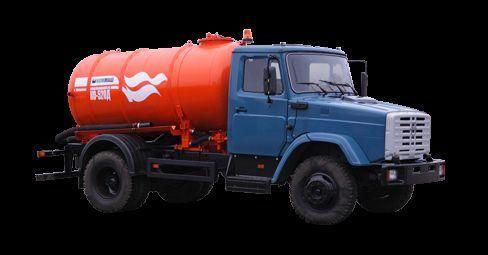 ZIL Vakuumnaya mashina KO-520 maşină pentru vidanjări