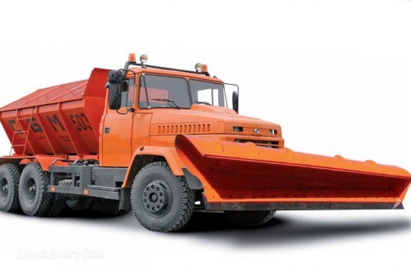 KRAZ 65055 MDKZ-30 pentru împrăştierea